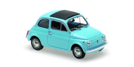Cover Originalgetreues Modell Fiat 500 L 1:43 | Heel Verlag