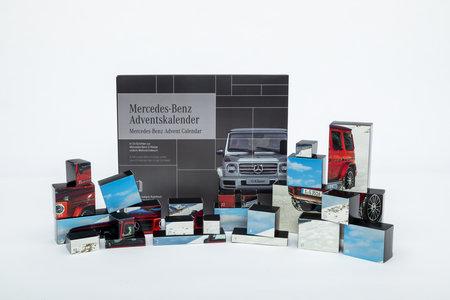 Cover G-Klasse Adventskalender 2019 - Bau Deine eigene, detailgetreue G-Klasse | Heel Verlag