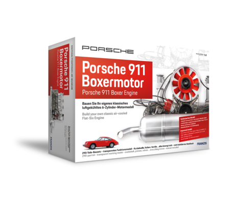 PORSCHE 6-Zylinder Boxermotor-Bausatz