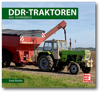 Buchcover DDR-Traktoren aus Schönbeck | Heel Verlag