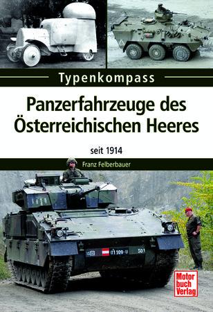 Buchcover Typenkompass Panzerfahrzeuge des Österreichischen Heeres | Heel Verlag
