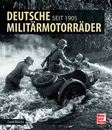 Buchcover Deutsche Militärmotorräder | Heel Verlag GmbH