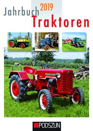 Buchcover Jahrbuch Traktoren 2019 | Heel Verlag