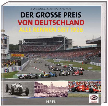 Buchcover Der große Preis von Deutschland | Heel Verlag