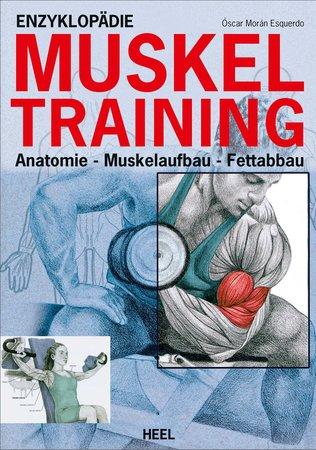 Buchcover Enzyklopädie Muskeltraining | Heel Verlag