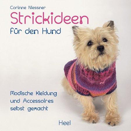 Buchcover Strickideen für den Hund | Heel Verlag