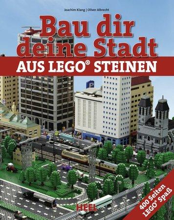 BuchcoverBau dir deine Stadt aus Lego-Steinen   Heel Verlag
