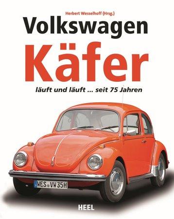 Buchcover VW Käfer - Sympatischer Welteroberer der Nachkriegszeit | Heel Verlag
