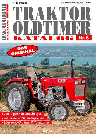 Buchcover Traktor Oldtimer Katalog Nr. 8 | Heel Verlag