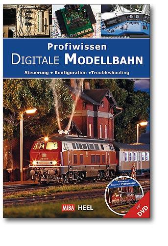 Buchcover Profiwissen: Digitale Modellbahn | Heel Verlag