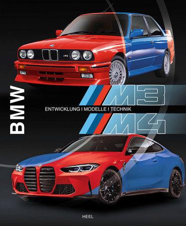 Buchcover BMW M3/M4: Entwicklung - Modelle - Technik | Heel Verlag