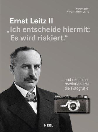 Buchcover Ernst Leitz II - Die Geburt der Kleinfilmkamera | Heel Verlag