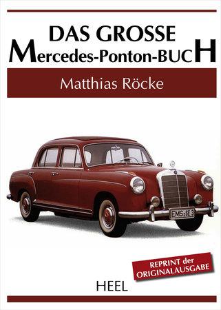 Buchcover Das große Mercedes-Ponton-Buch | Heel Verlag