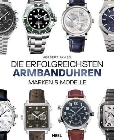 Buchcover Die erfolgreichsten Armbanduhren | Heel Verlag