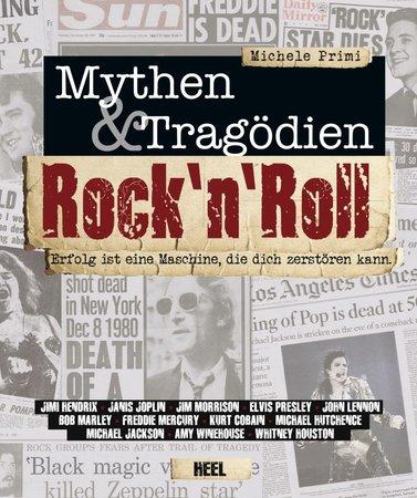 Buchcover Rock'n'Roll - Mythen & Tragödien | Heel Verlag
