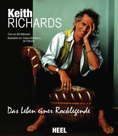Buchcover Keith Richards - Das Leben einer Rocklegende | Heel Verlag