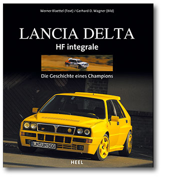 Buchcover Lancia Delta HF Integrale | Heel Verlag