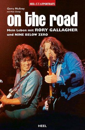 Buchcover On the Road - Mein Leben mit Rory Gallagher | Heel Verlag