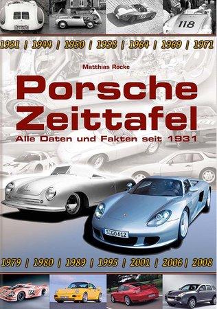 Buchcover Porsche Zeittafel: Alle Fakten und Meilensteine   Heel Verlag