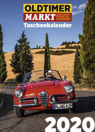 Buchcover Oldtimer Markt Taschenkalender 2020 | Heel Verlag