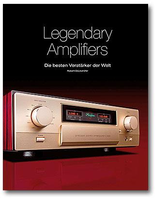 Buchcover Legendary Amplifiers: Die besten Verstärker der Welt vom Heel Verlag