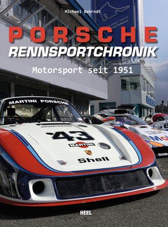 Buchcover Porsche Rennsportchronik | Heel Verlag