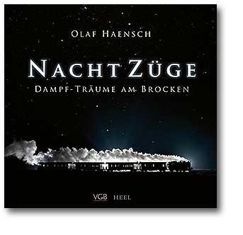Buchcover Nachtzüge Dampf-Träume am Brocken vom Heel Verlag