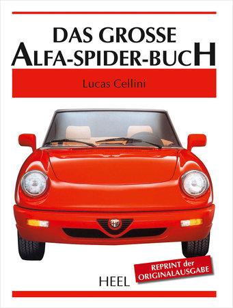 Cover Das große Alfa Spider Buch | Heel Verlag