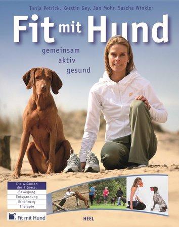Buchcover Fit mit Hund - Gemeinsam aktiv gesund | Heel Verlag