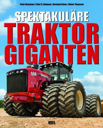 Buchcover Spektakuläre Traktorgiganten | Heel Verlag