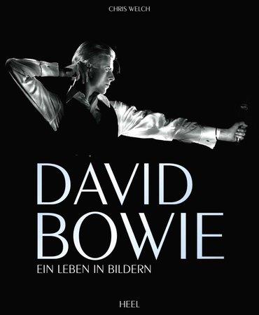 Buchcover David Bowie - Künstler und Kunstfigur | Heel Verlag