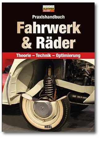 Buchcover Praxishandbuch Fahrwerk und Räder | Heel Verlag