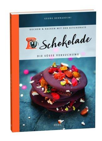 Buchcover Köstliche Schokoladen-Rezepte für die KitchenAid | Heel Verlag