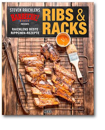 Buchcover Ribs & Racks Raichlens beste Rippchen-Rezepte vom Heel Verlag