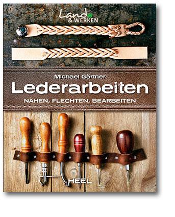 Buchcover Ledernähen vom Heel Verlag