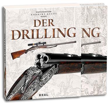 Buchcover Der Drilling - Waffenedition Norbert Klups, Band 1 | Heel Verlag