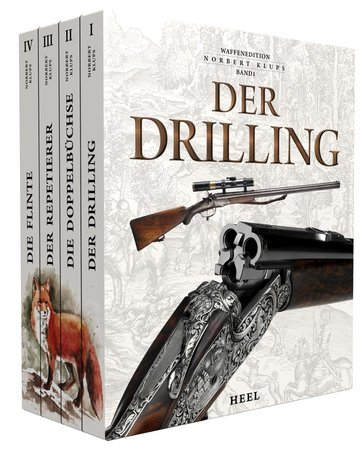 Buchcover Waffenedition Norbert Klups Gesamtausgabe   Heel Verlag