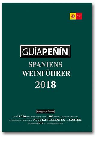 Buchcover Guia Penin 2018 - Spaniens Weinführer No.1 | Heel Verlag