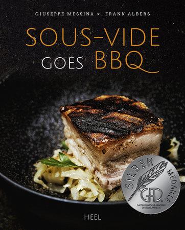Buchcover Sous Vide goues BBQ vom Heel Verlag