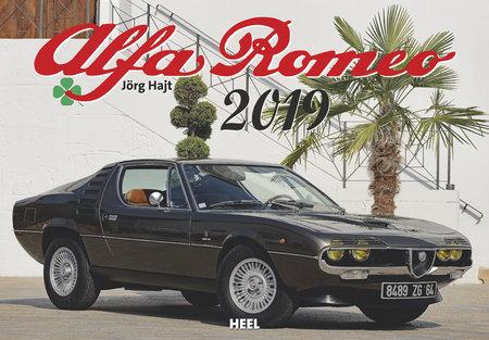 Cover Alfa-Romeo-Kalender 2019 vom Heel Verlag