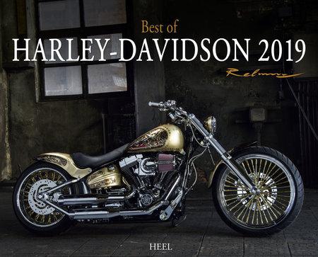 Cover Kalender Best-of-Harley-Davidson 2019 vom Heel Verlag