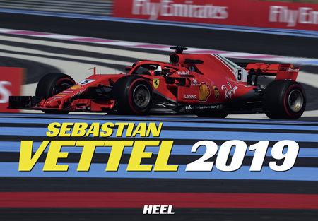 Cover Kalender Sebastian Vettel 2019 vom Heel Verlag
