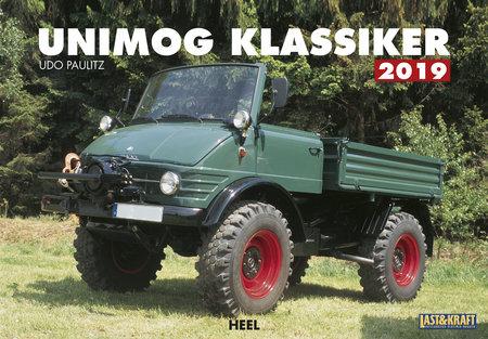 Cover Kalender Unimog-Klassiker 2019 vom Heel Verlag