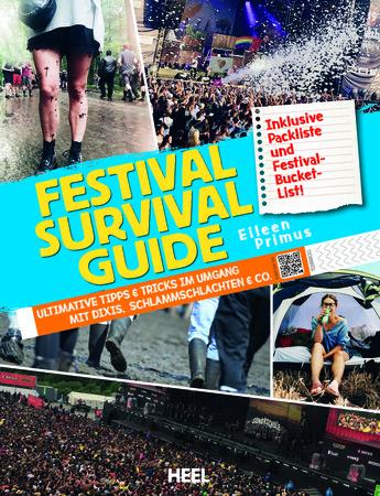Buchcover Festival-Survival-Guide | Heel Verlag