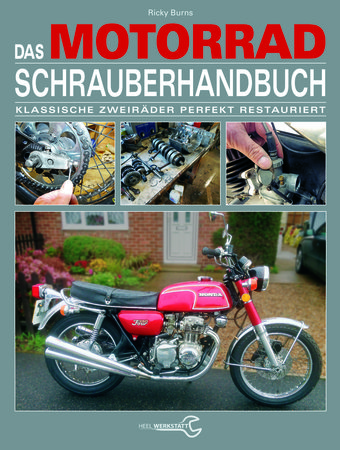 Buchcover Schrauberhandbuch vom Heel Verlag