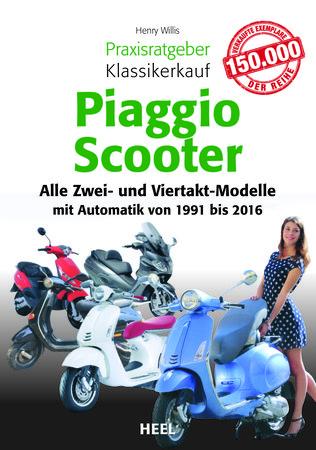 Buchcover Piaggio Scooter Kaufragtgeber vom Heel Verlag