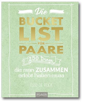 Buchcover Bucket List für Paare | Heel Verlag