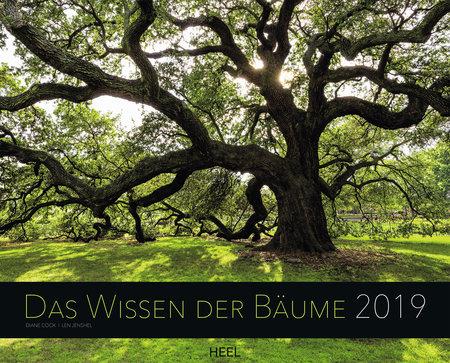 Cover Kalender Das Wissen der Bäume 2019 vom Heel Verlag