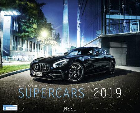 Cover Supercars-Kalender 2019 vom Heel Verlag