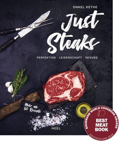 Buchcover Just Steaks vom Heel Verlag